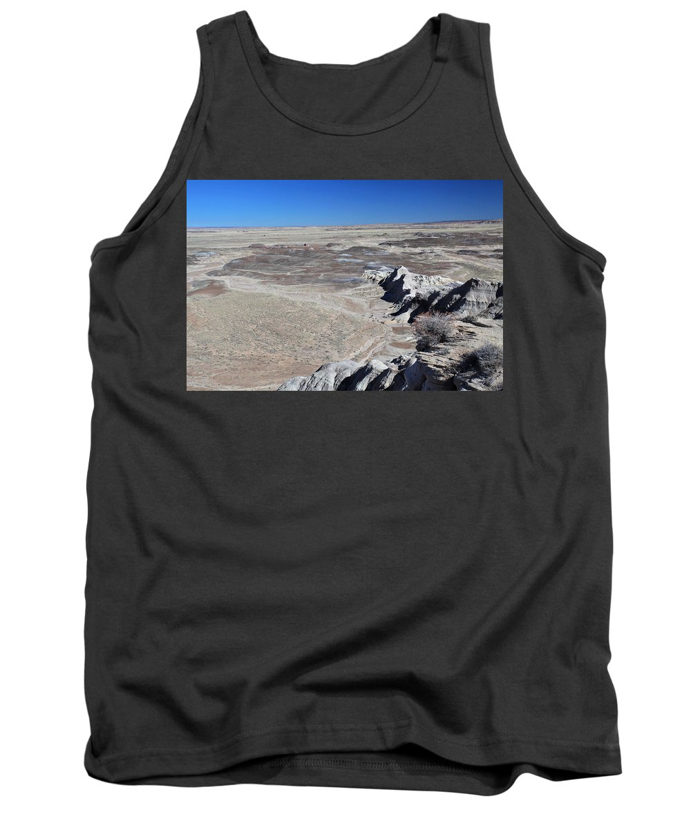 Desert Tank Top featuring the photograph Otherworldly by Gary Kaylor