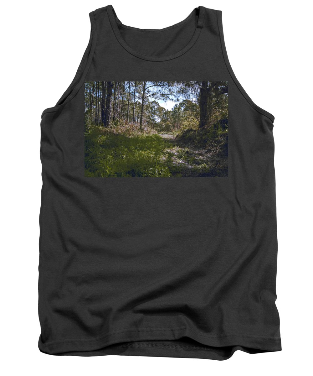 Over The Hill Tank Top featuring the photograph Over The Hill by Michael Frizzell