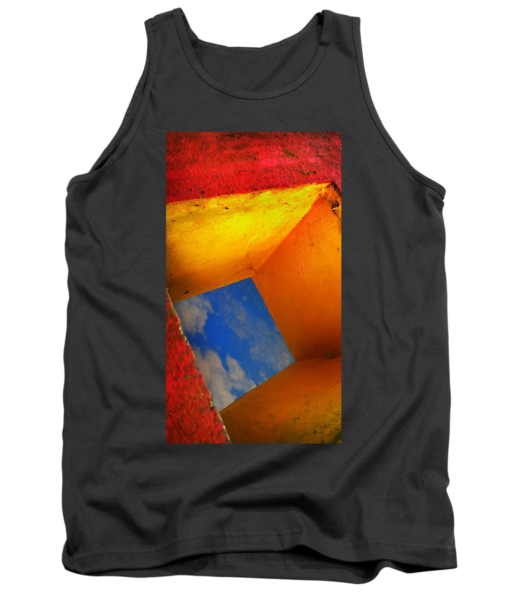 Skip Hunt Tank Top featuring the photograph Over The Rainbow by Skip Hunt
