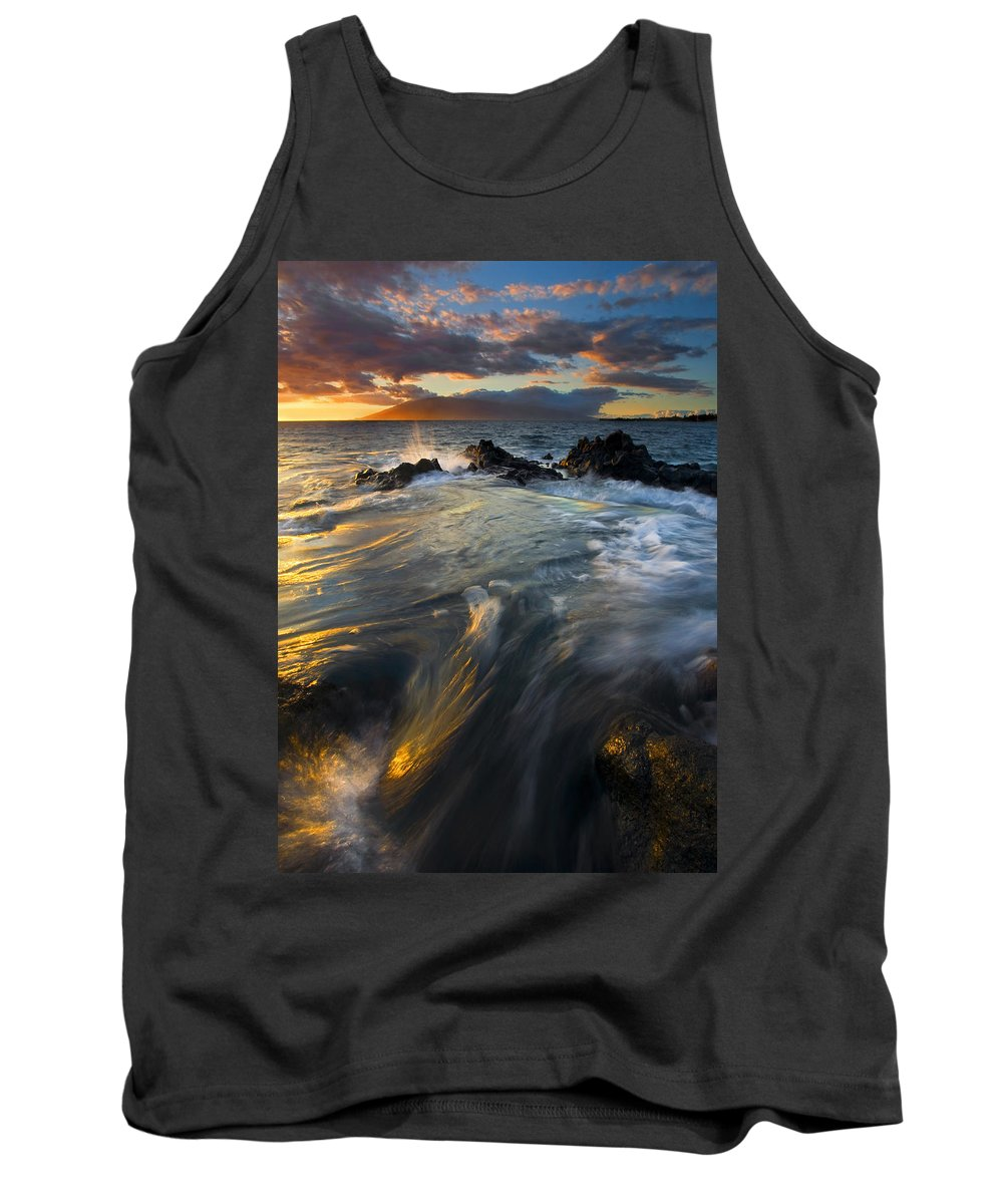 Cauldron Tank Top featuring the photograph Overflow by Mike Dawson