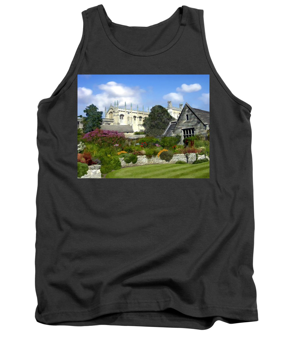 Oxford Tank Top featuring the photograph Oxford England by Kurt Van Wagner