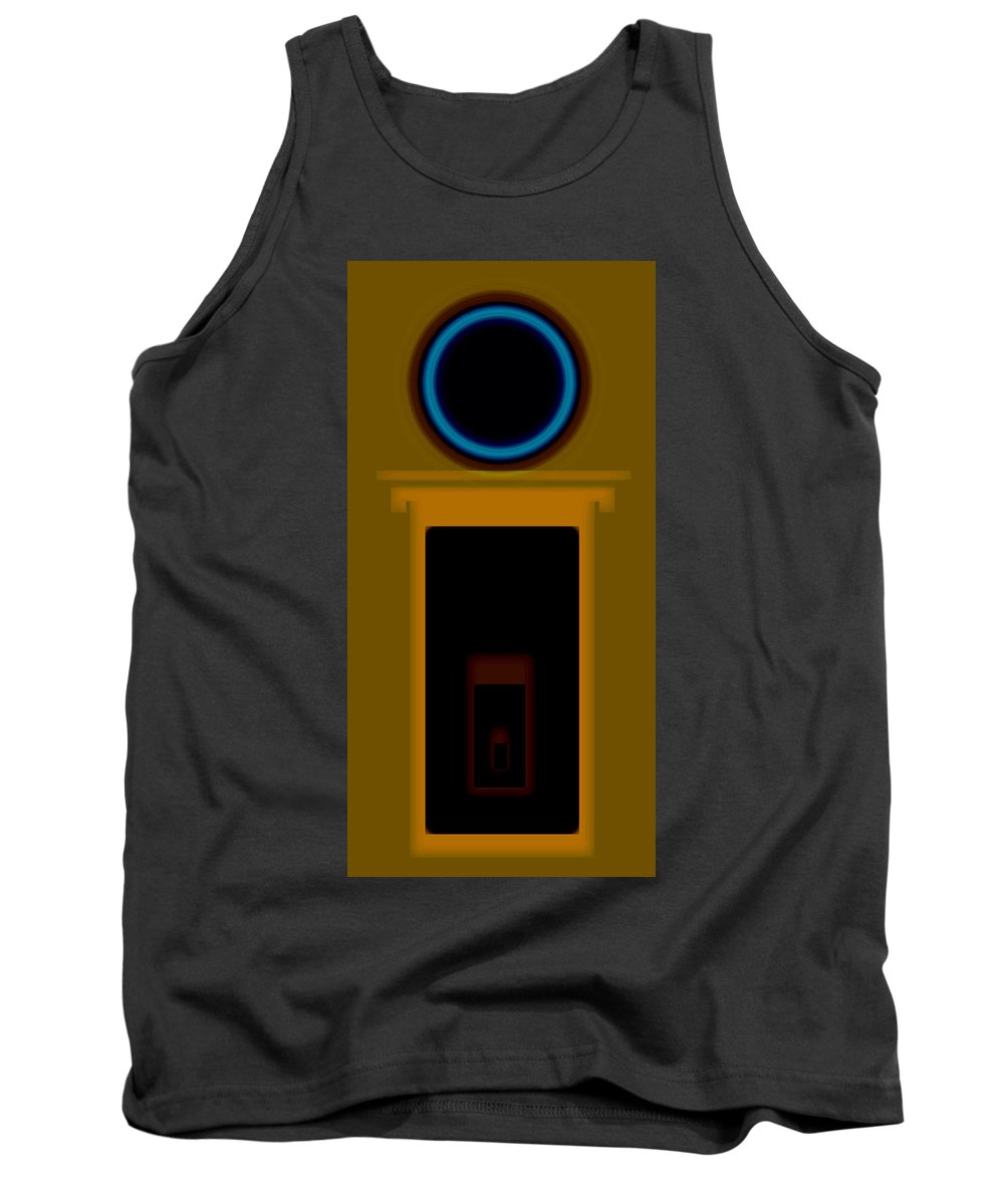 Palladian Tank Top featuring the painting Palladian Portal by Charles Stuart