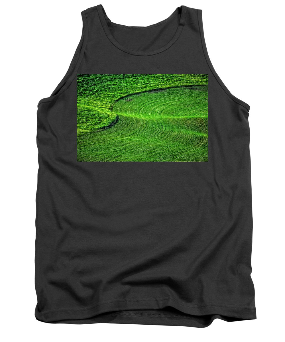 Palouse Tank Top featuring the photograph Palouse S by Ed Broberg