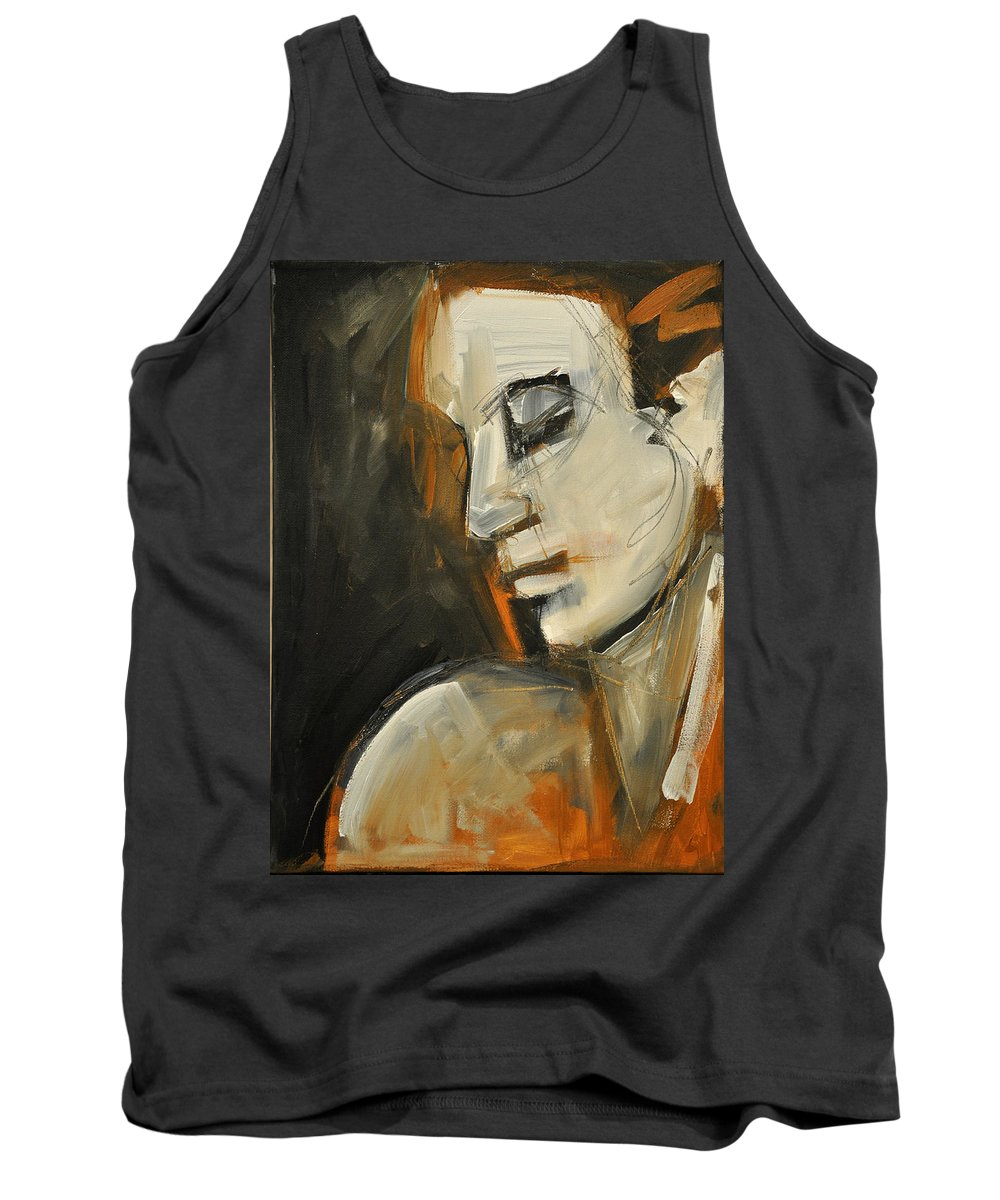 Woman Tank Top featuring the painting Pandora by Tim Nyberg