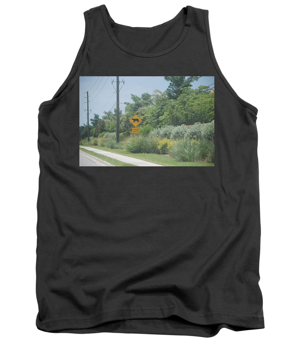 Panther Tank Top featuring the photograph Panther Pway by Rob Hans