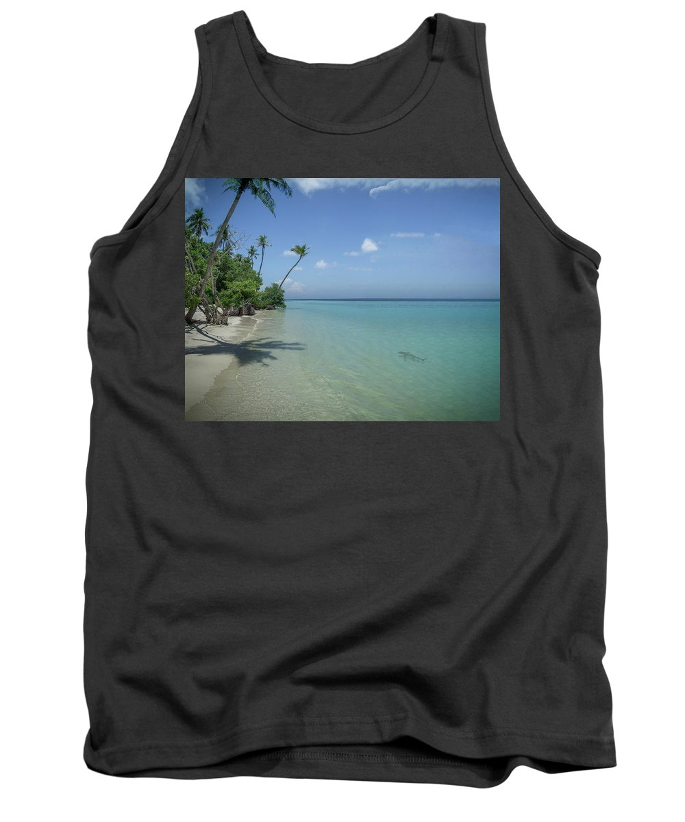Maldives Tank Top featuring the photograph Paradise by Phil Pace