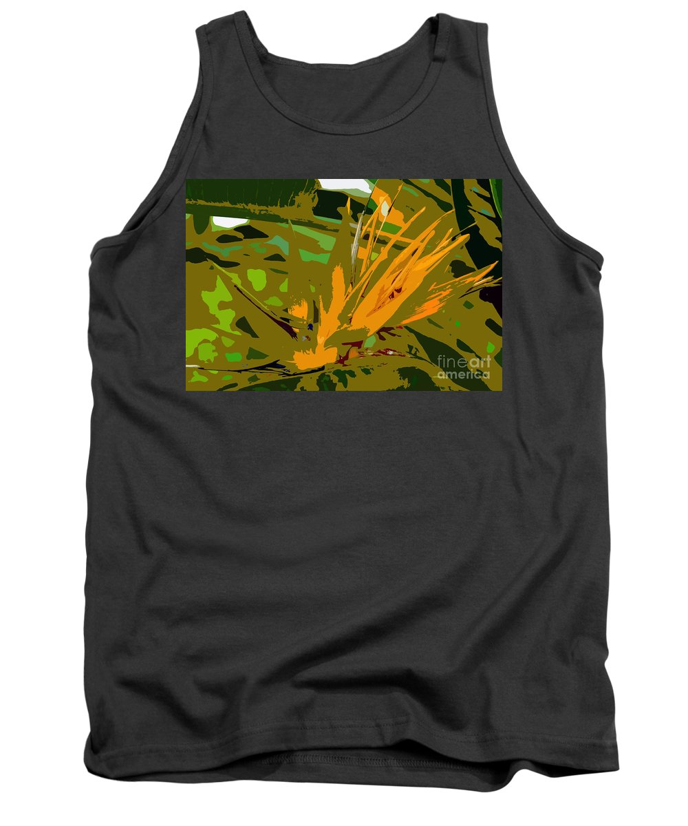 Paradise Tank Top featuring the photograph Paradise Work Number 9 by David Lee Thompson