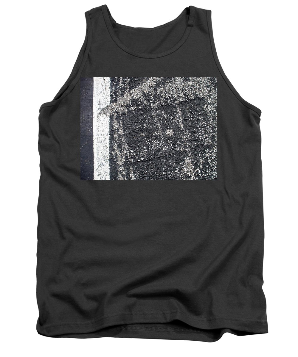 Parking Lot Tank Top featuring the photograph Parking Lot 3 by Anita Burgermeister