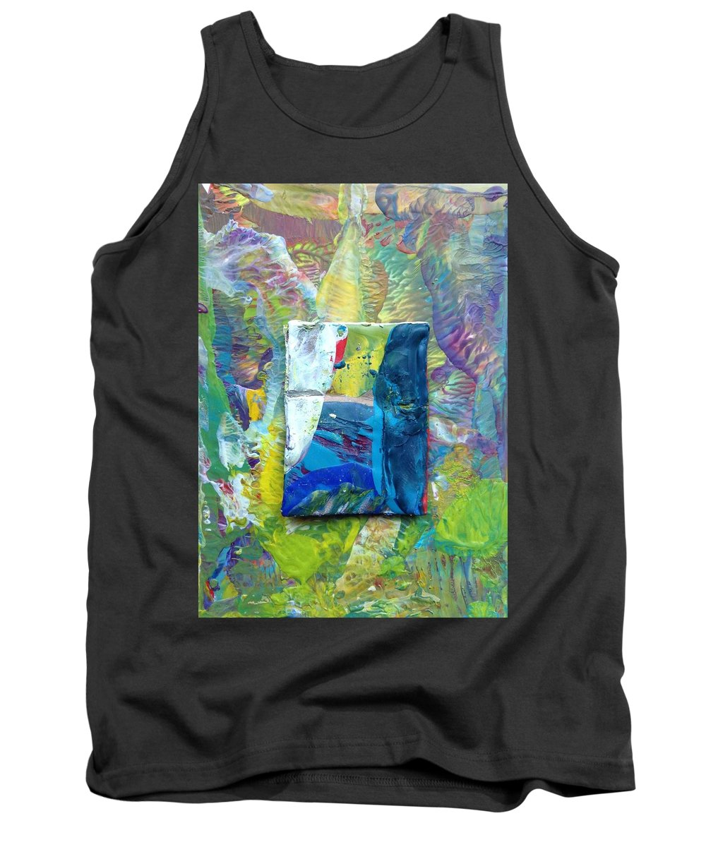 Tank Top featuring the painting Passageway by Sperry Andrews