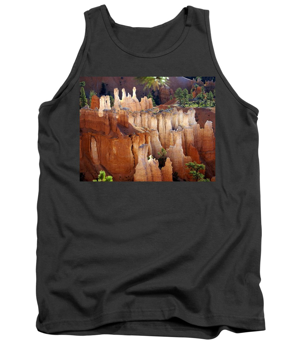 Bryce Canyon National Park Tank Top featuring the photograph Pastel Bryce by Marty Koch