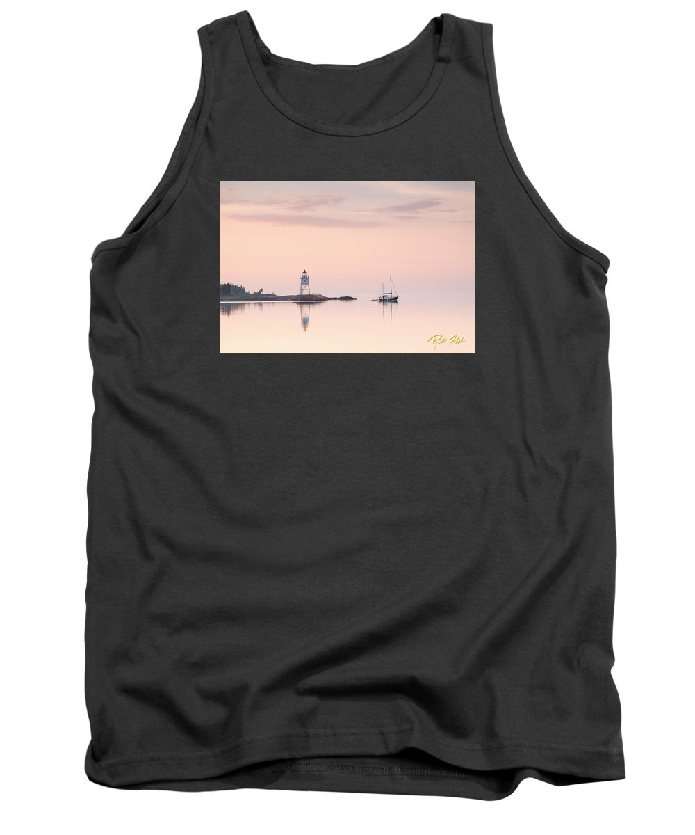 Buildings Tank Top featuring the photograph Pastel Morning by Rikk Flohr