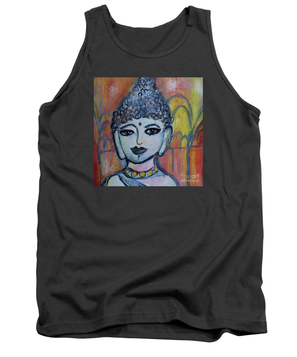 Painting Tank Top featuring the painting Peace by Ingrid Becker