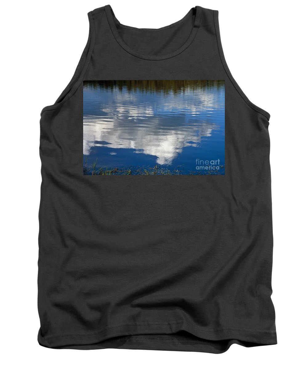 Landscape Tank Top featuring the photograph Peace by Kathy McClure