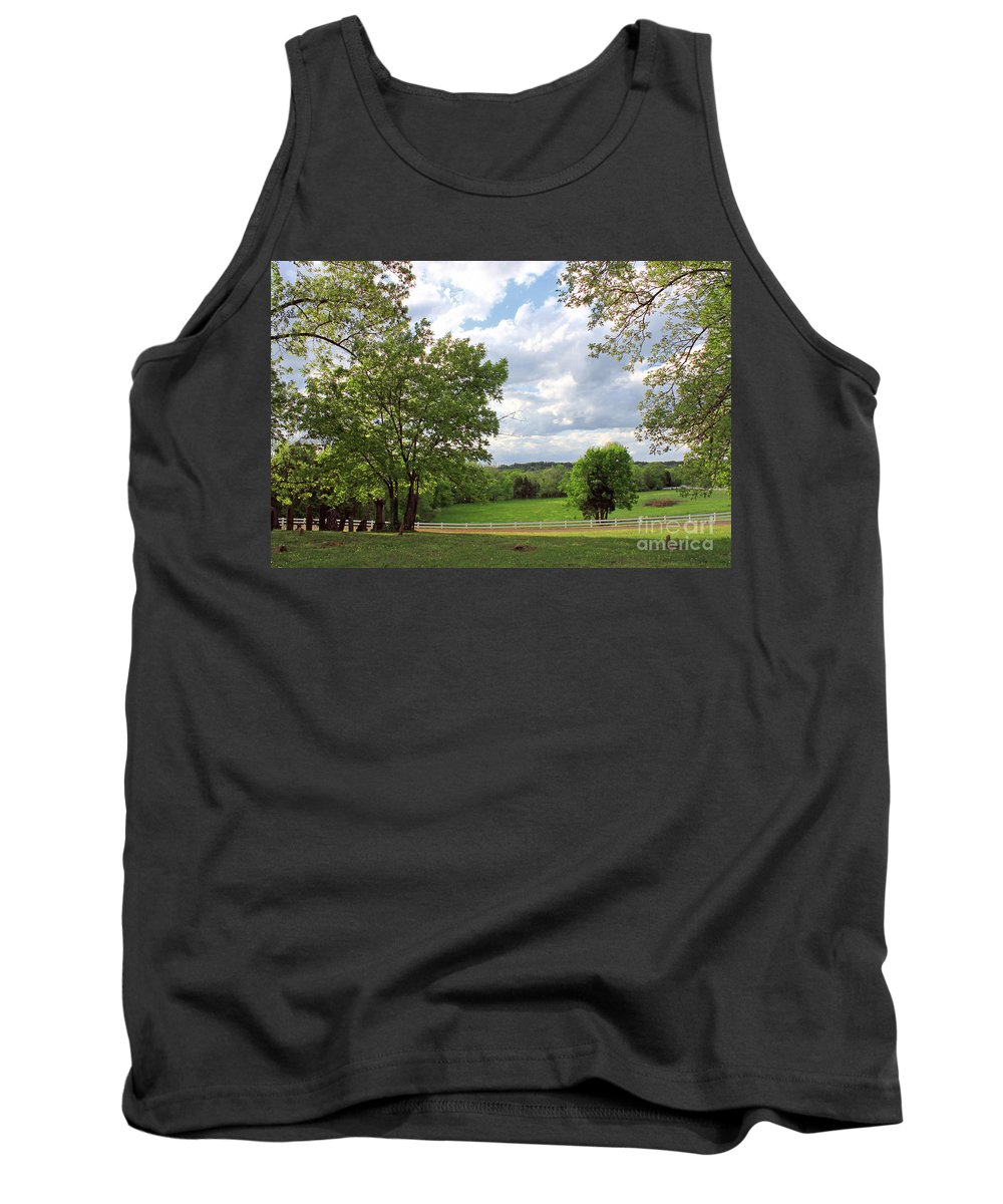 Landscape Tank Top featuring the photograph Peaceful Setting by Todd Blanchard