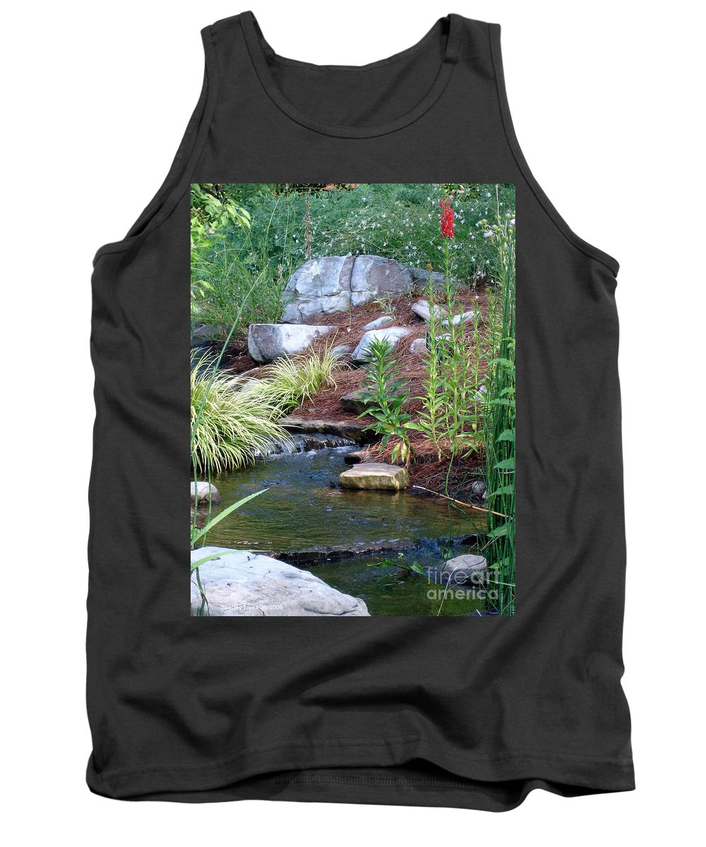 Landscape Tank Top featuring the photograph Peaceful by Shelley Jones
