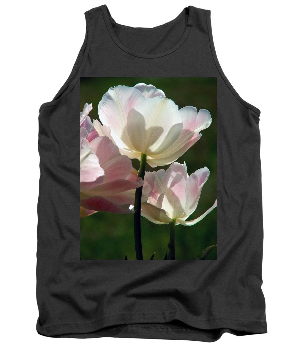 Flowers Tank Top featuring the photograph Pedals Of Sunlight by Robert Meanor