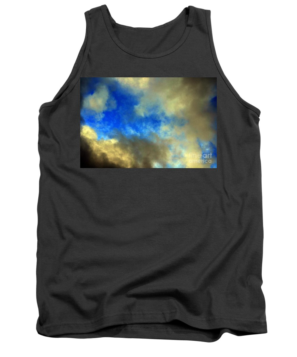 Clay Tank Top featuring the photograph Peeking Through by Clayton Bruster