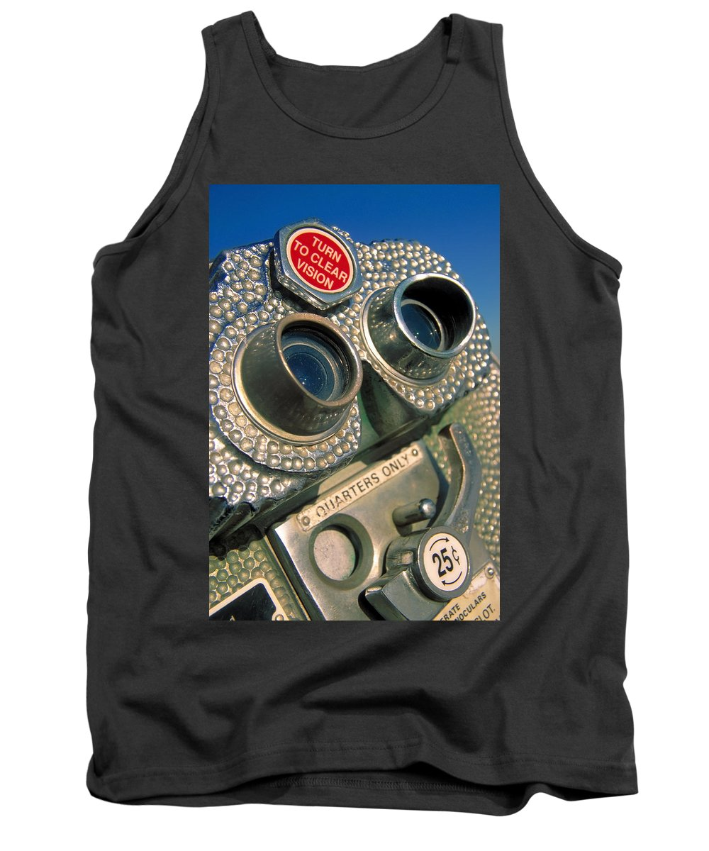 View Tank Top featuring the photograph Peep Show by Skip Hunt