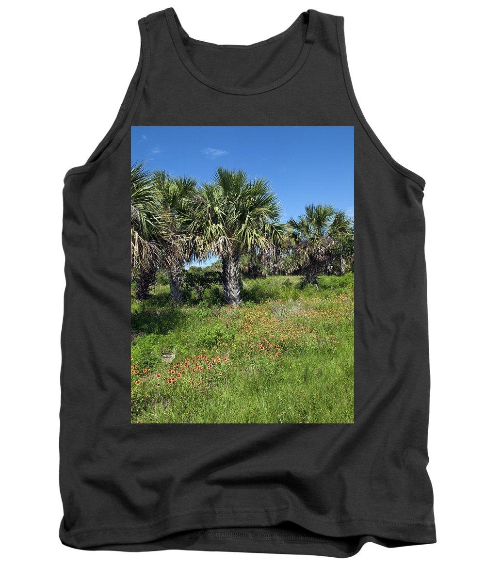 Florida Tank Top featuring the photograph Pelican Island In Florida by Allan Hughes