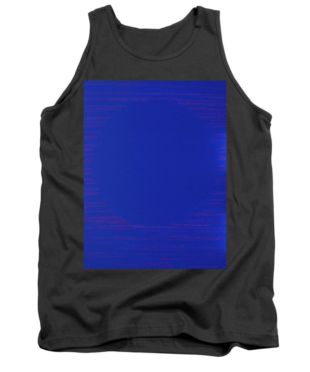 Spiritual Tank Top featuring the painting Perfect Existence by Kyung Hee Hogg