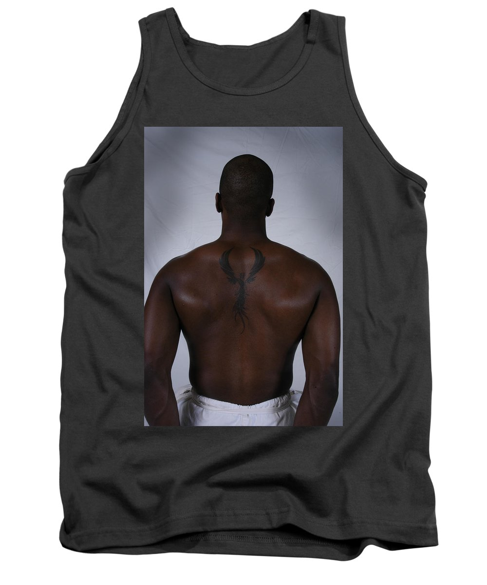 Phoenix Tank Top featuring the photograph Phoenix - Dion by D'Arcy Evans