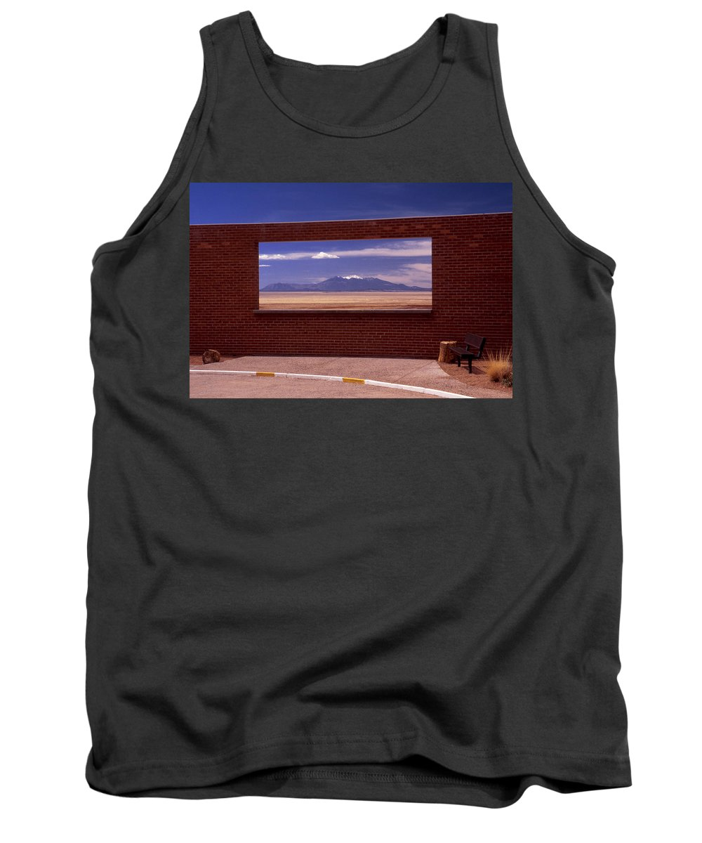 Window Tank Top featuring the photograph Picture Window by Karen Ulvestad