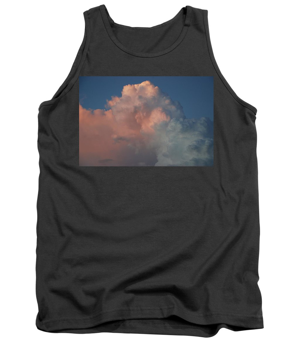 Clouds Tank Top featuring the photograph Pink And Grey by Rob Hans