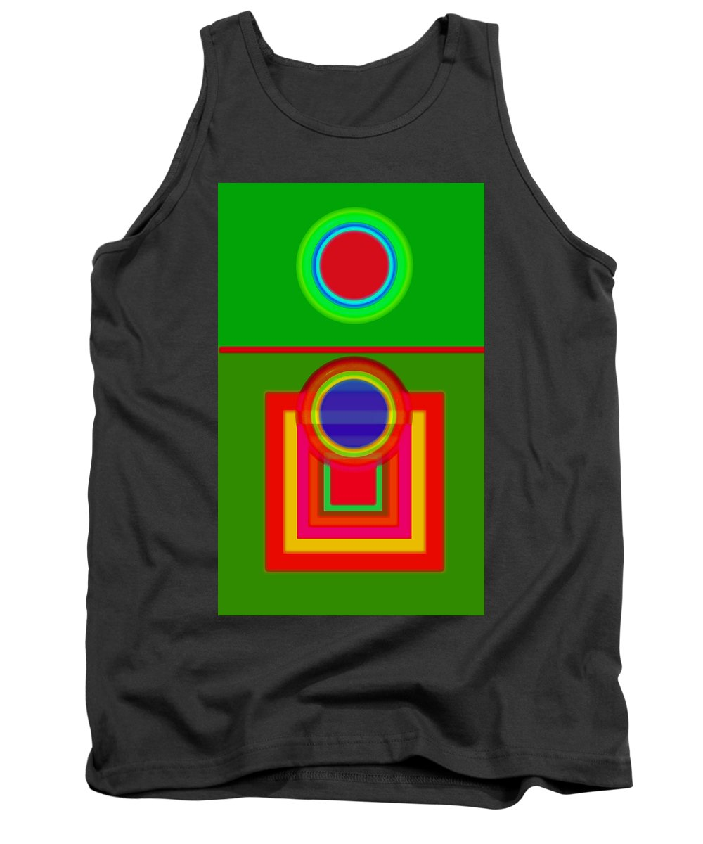 Classical Tank Top featuring the painting Pitch by Charles Stuart