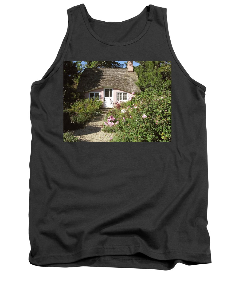 Planting Fields Tank Top featuring the photograph Play House / Planting Fields by Howard Rose