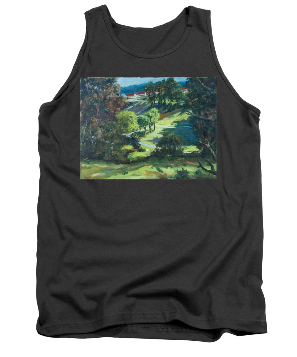 Park Tank Top featuring the painting Polin Springs by Rick Nederlof