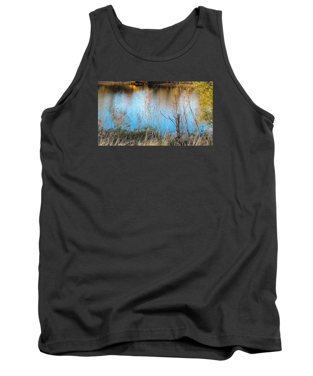 Pond Tank Top featuring the photograph Pond Life by Tracy Welter