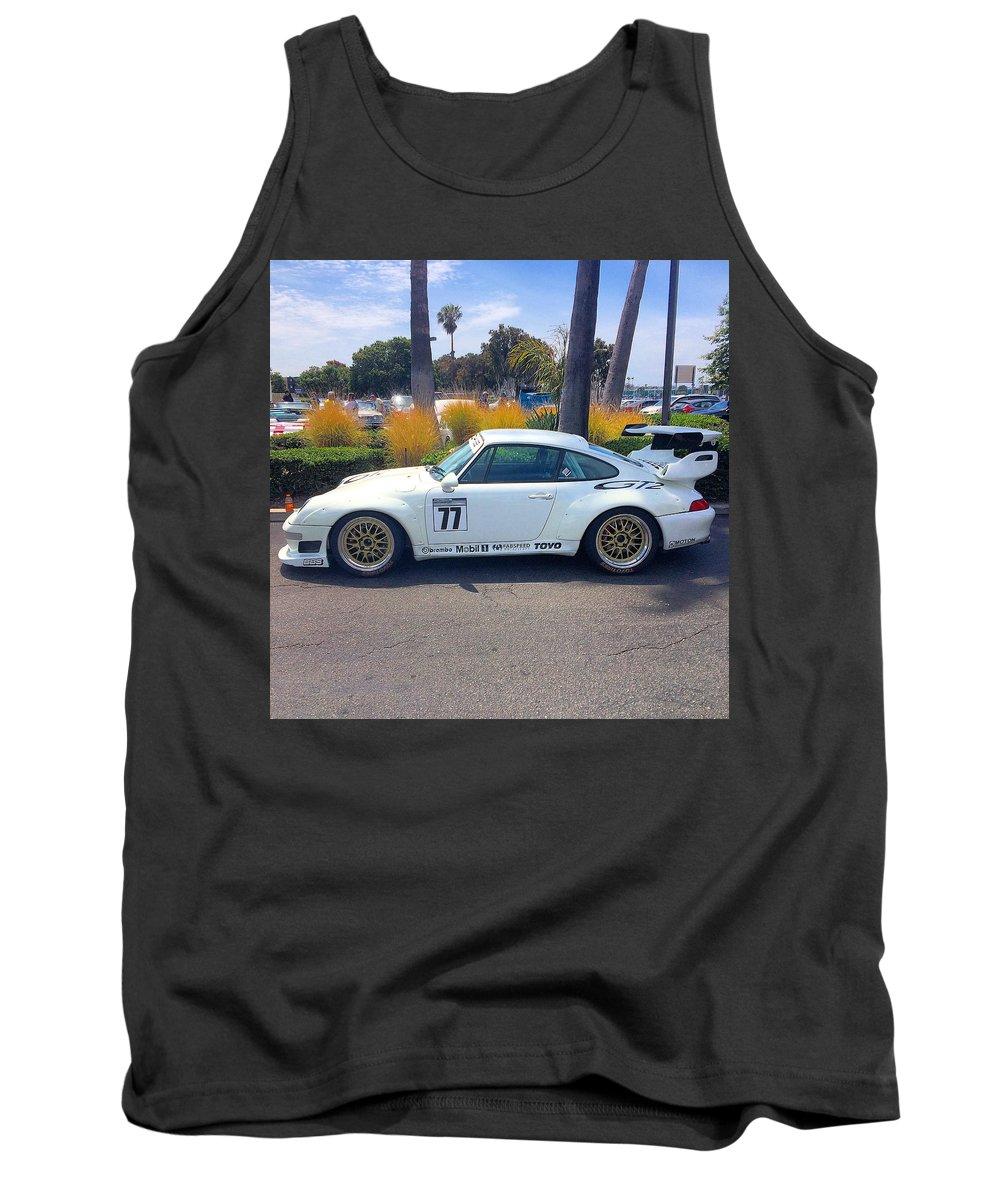 Porsche 911 Gt2 Tank Top featuring the photograph Porsche 911 Gt2 by MAG Autosport