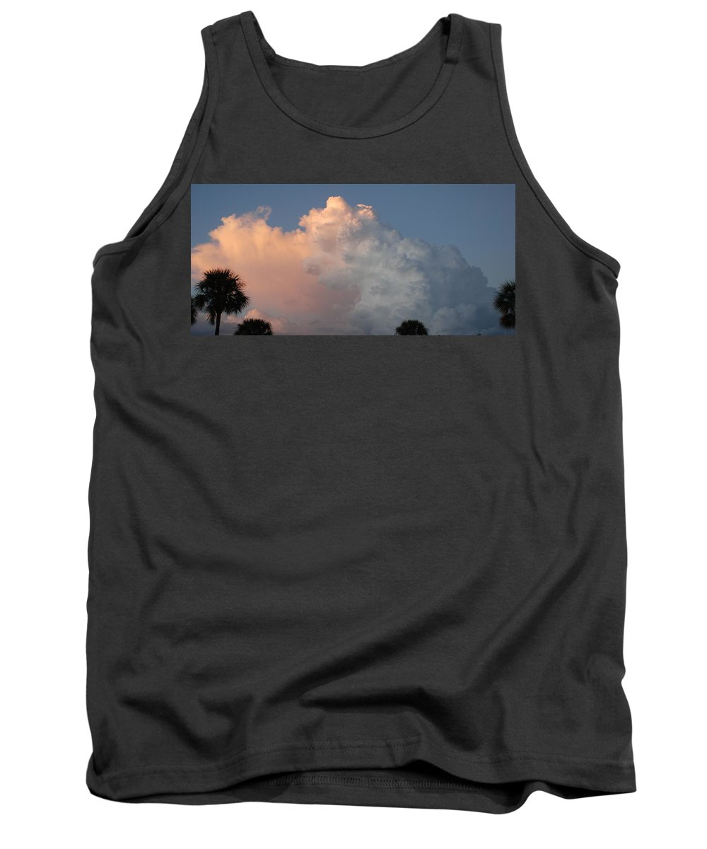 Clouds Tank Top featuring the photograph Post Card Clouds by Rob Hans