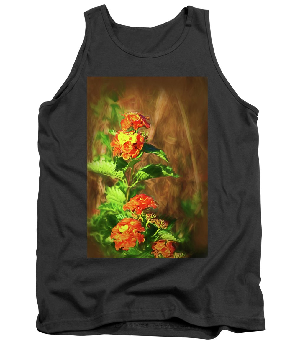 Kingsville Texas Tank Top featuring the photograph Prairie Flowers by Marshall Barth