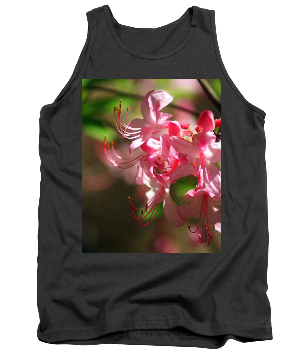 Flowers Tank Top featuring the photograph Pretty Pink by Marty Koch