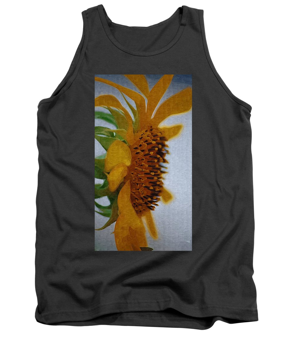 Flowers Tank Top featuring the photograph Profile by Donna Bentley