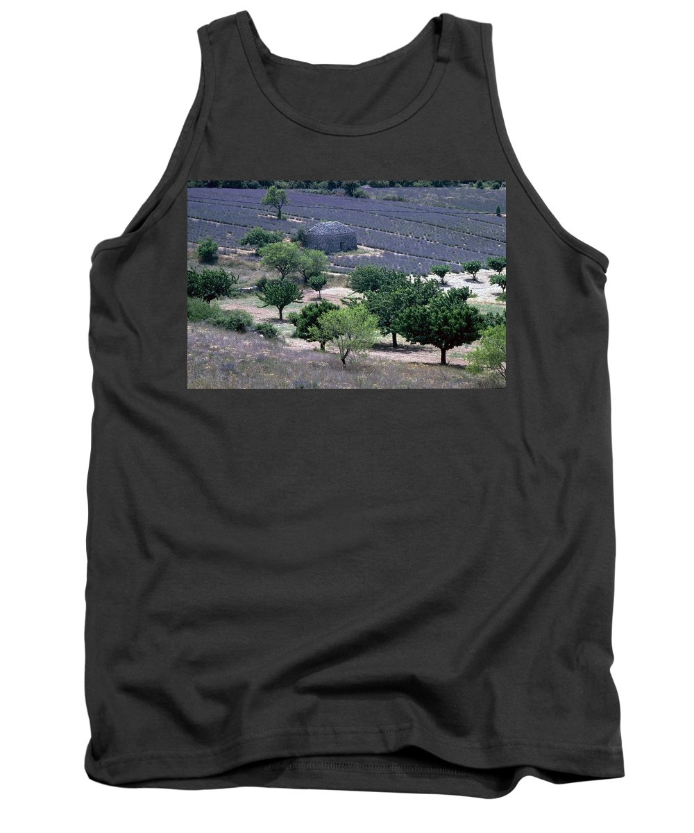 Provence Tank Top featuring the photograph Provence by Flavia Westerwelle