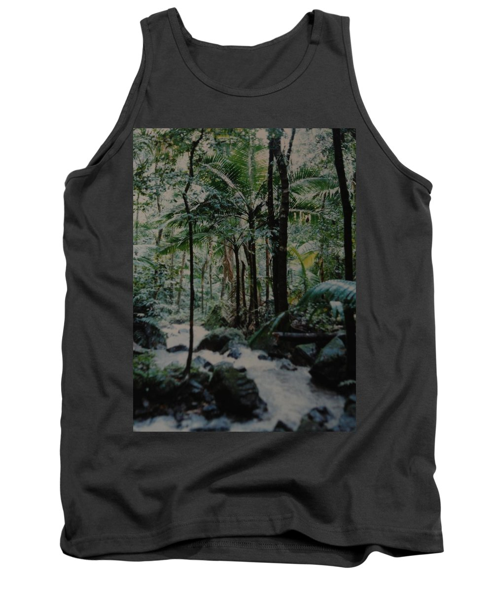 Trees Tank Top featuring the photograph Puerto Rico by Rob Hans