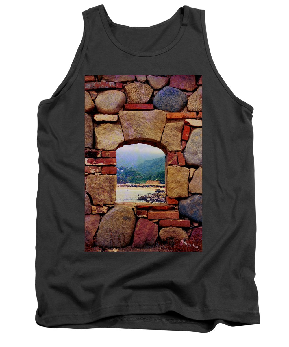 Puerto Vallarta Tank Top featuring the photograph Puerto Vallarta by Sheryl R Smith