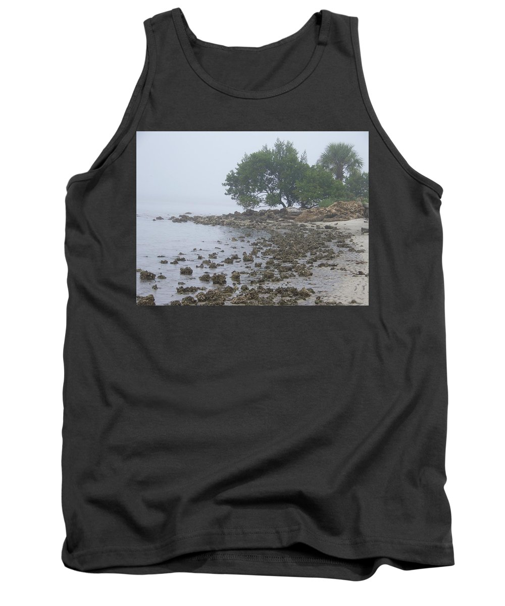 Mist Tank Top featuring the photograph Punta Gorda by Laurie Paci
