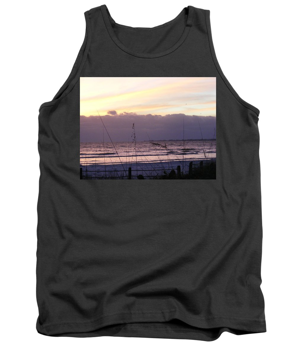 Landscape Tank Top featuring the photograph Purple Haze by Ed Smith