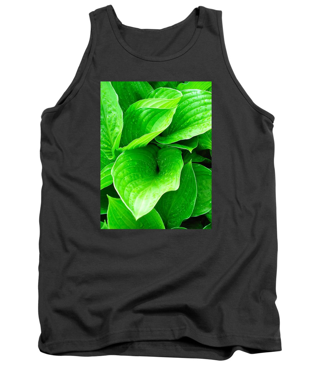 Flowers Tank Top featuring the photograph Rain Kissed 2 by Nelson F Martinez