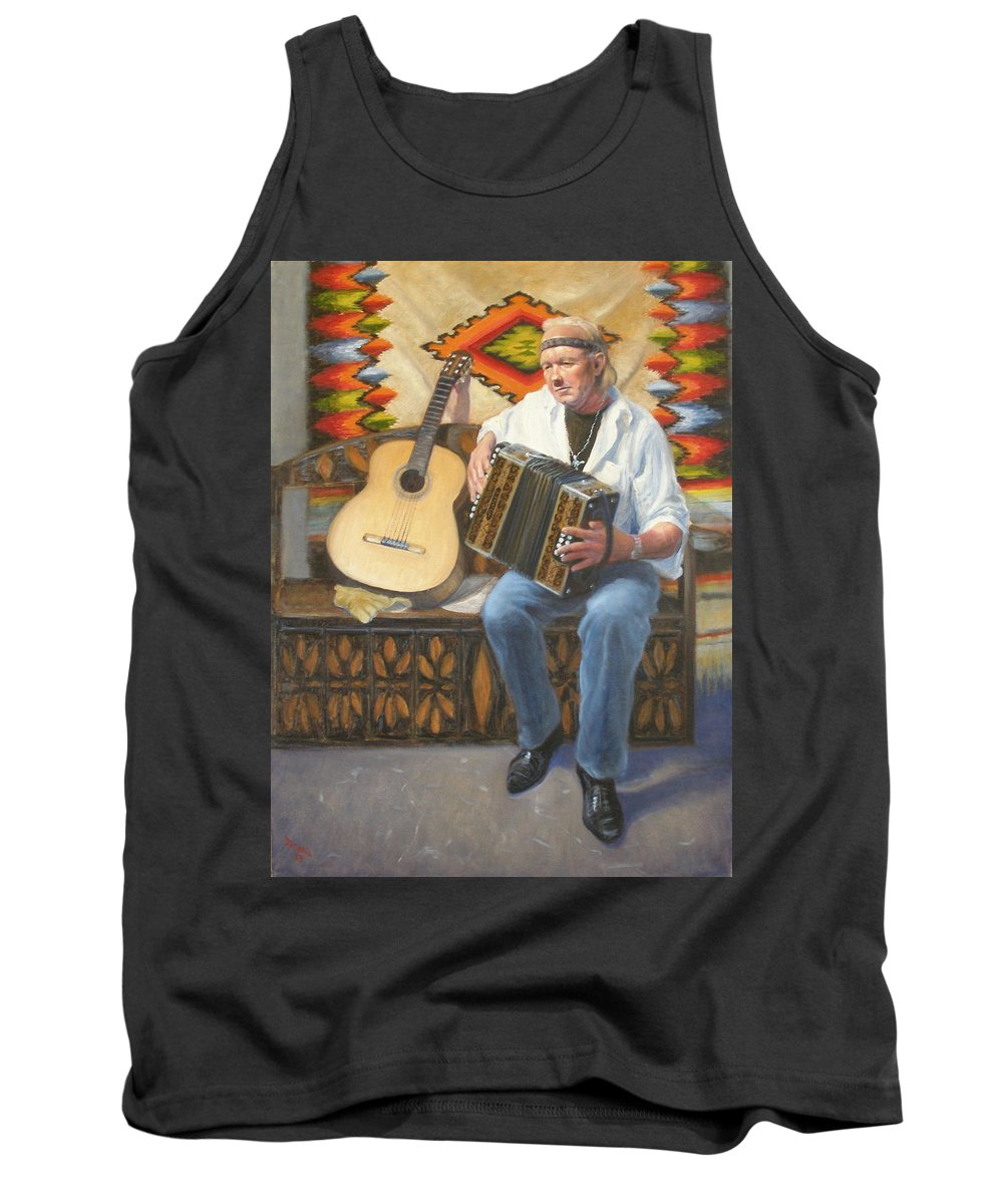 Realism Tank Top featuring the painting Rainbow Sky by Donelli DiMaria