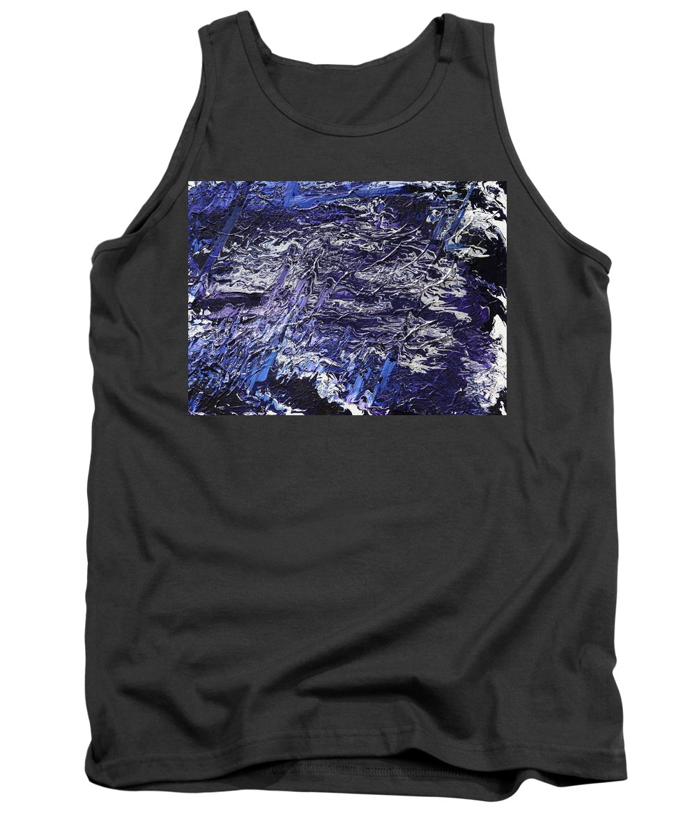 Fusionart Tank Top featuring the painting Rapid by Ralph White