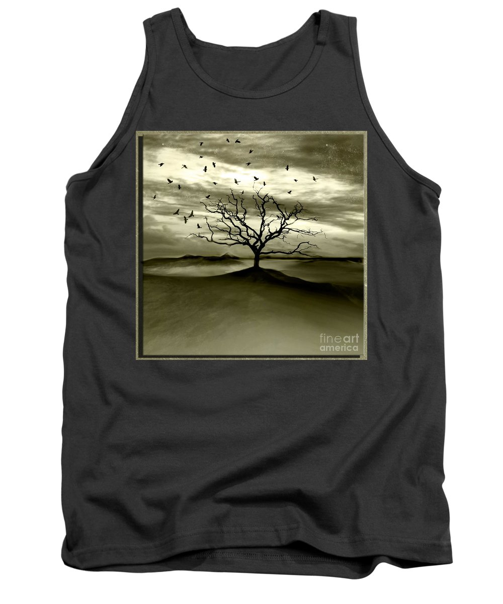 Landscape Tank Top featuring the photograph Raven Valley by Jacky Gerritsen