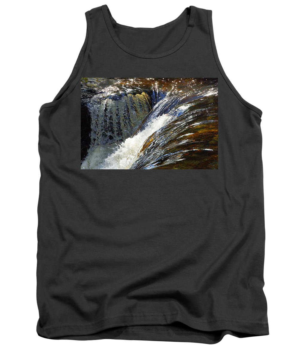 Water Tank Top featuring the photograph Ravenskill Falls by Francesa Miller