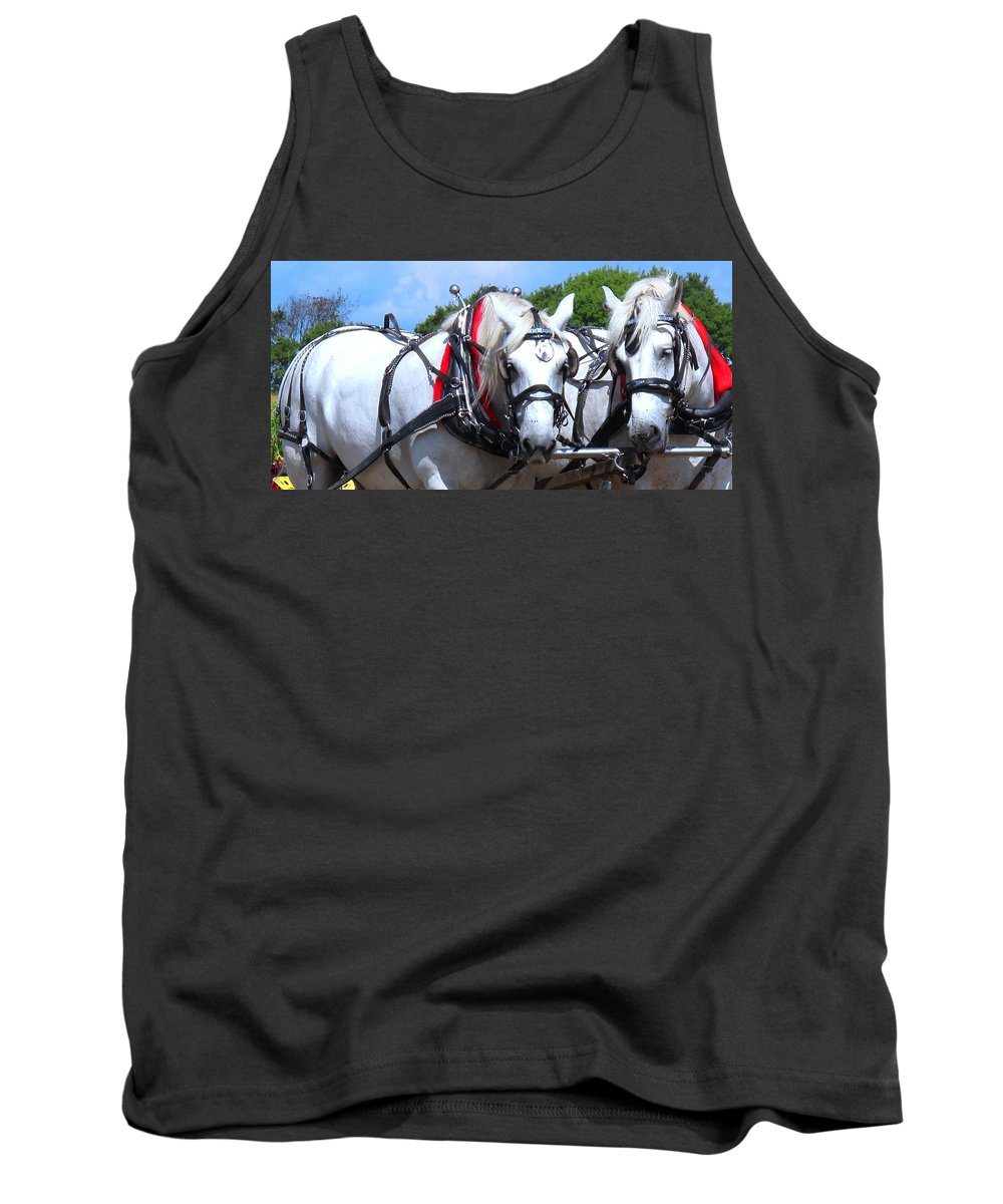 Horse Tank Top featuring the photograph Raw Power by Ian MacDonald