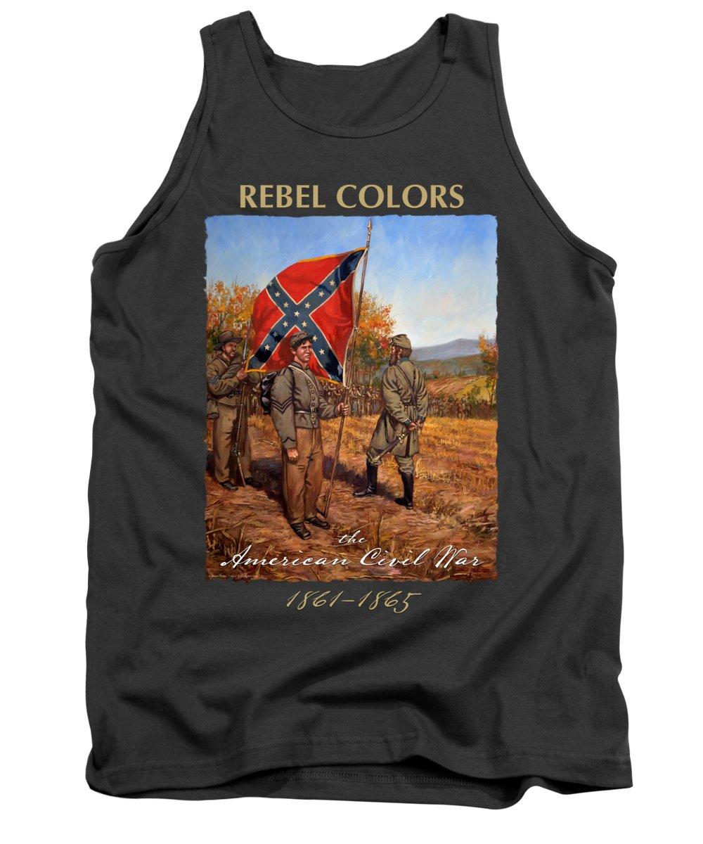 Confederate Flag Tank Tops