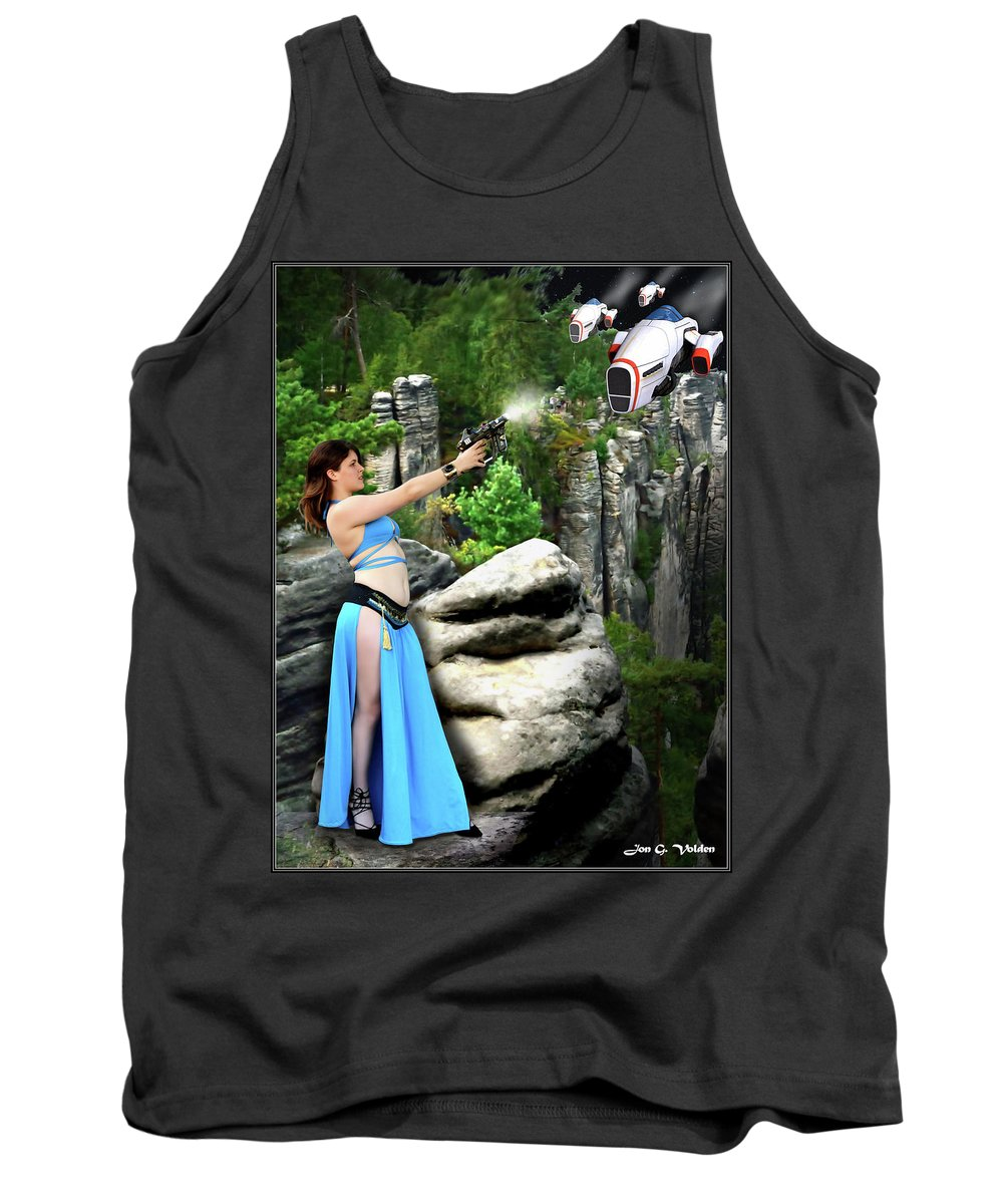 Vixen Tank Top featuring the photograph Rebel Stand by Jon Volden