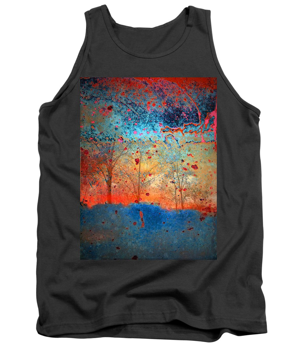 Trees Tank Top featuring the photograph Rebirth by Tara Turner